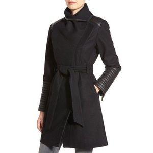 Badgley Mischka Black Lorian Coat